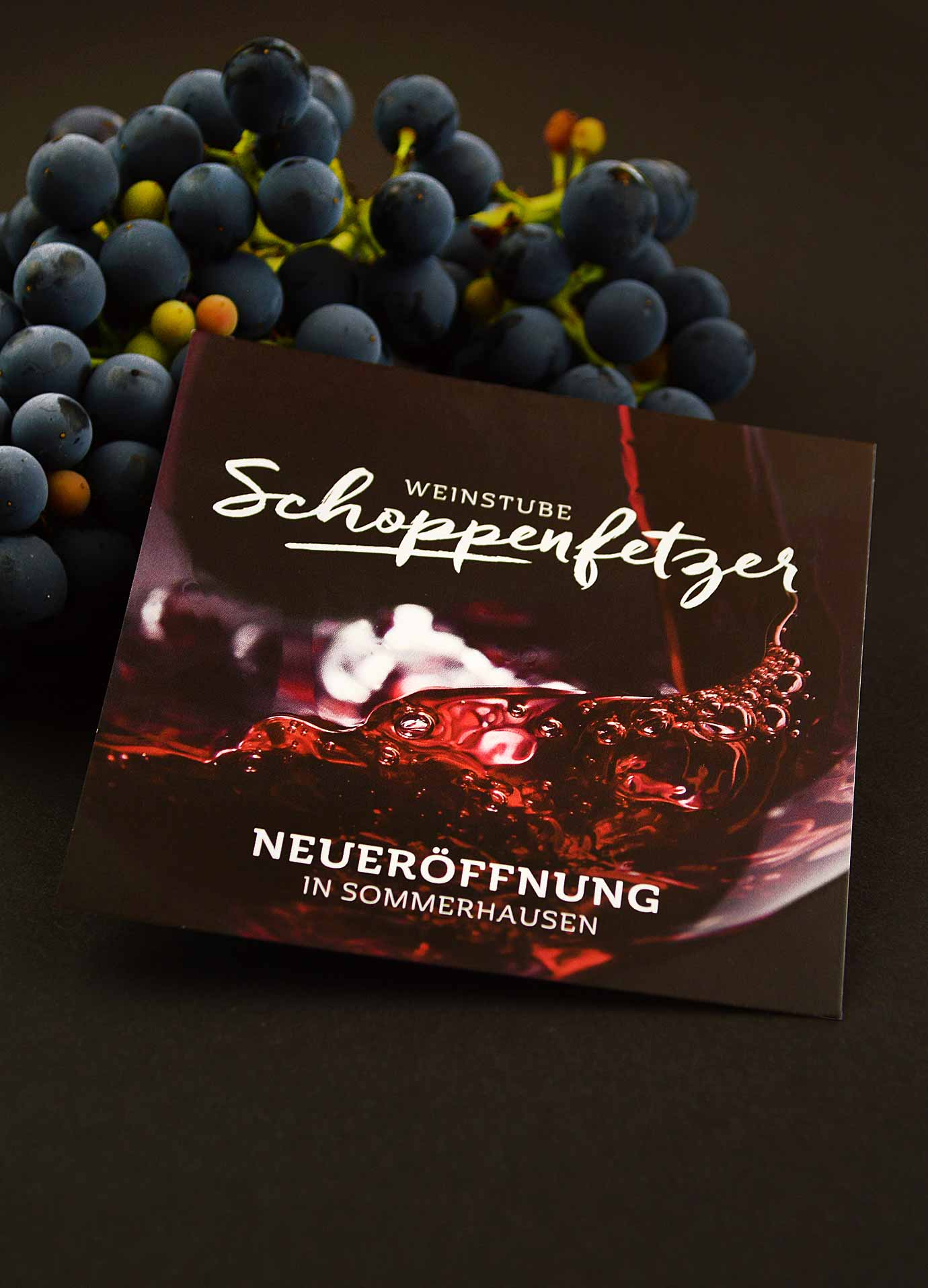 Weinstube Schoppenfetzer, Mini-Flyer